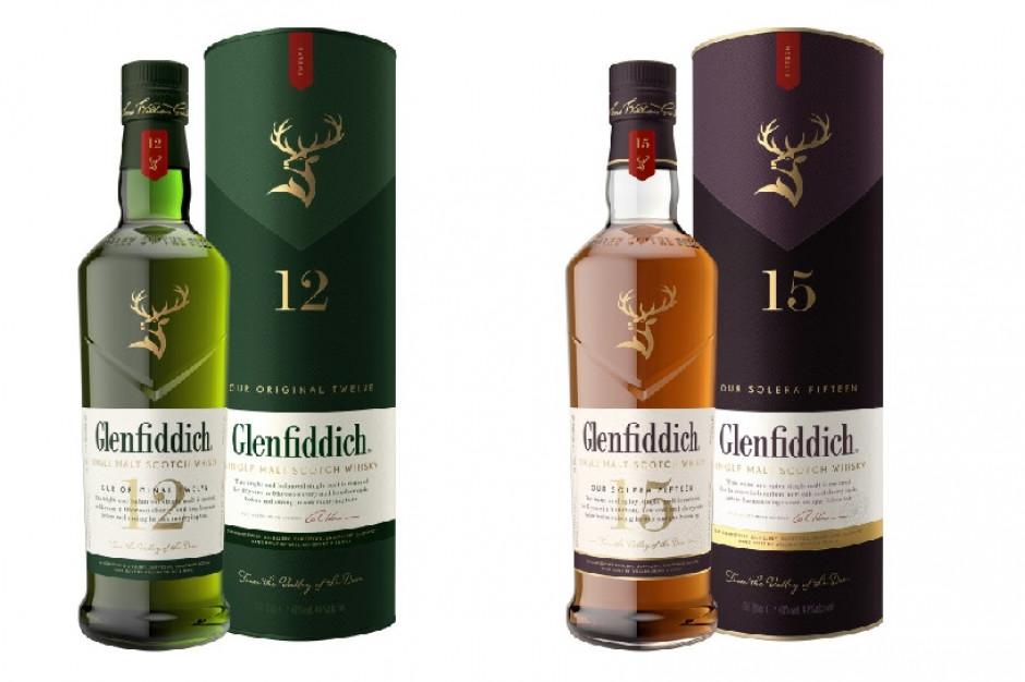 Whisky Glenfiddich w nowych opakowaniach