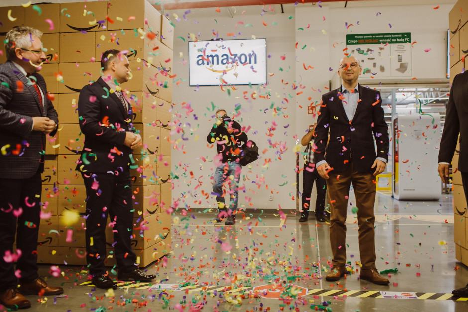 Amazon oficjalnie otworzył centra w Okmianach oraz Pawlikowicach pod Łodzią