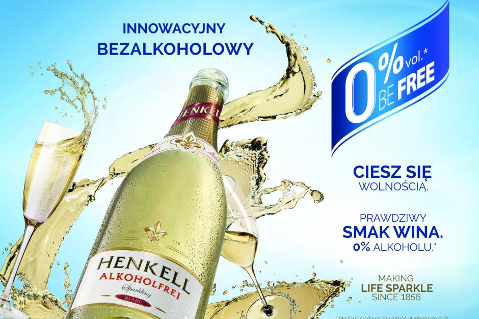 Henkell bezalkoholowy – 100 % smaku wina 0 % alkoholu