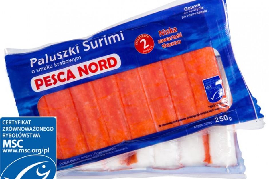 Pesca Nord wprowadza Paluszki Surimi z Certyfikatem MSC