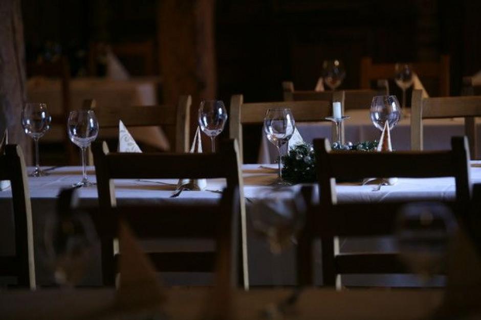 Restauratorzy i hotelarze spodziewają się najgorszego zakończenia roku od 5 lat