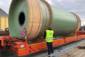 Fracht FWO Polska dostarcza młyny przemysłowe z Niemiec
