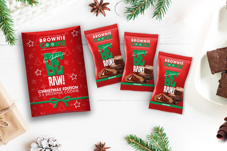 BeRAW Brownie Cookie - świąteczna edycja limitowana