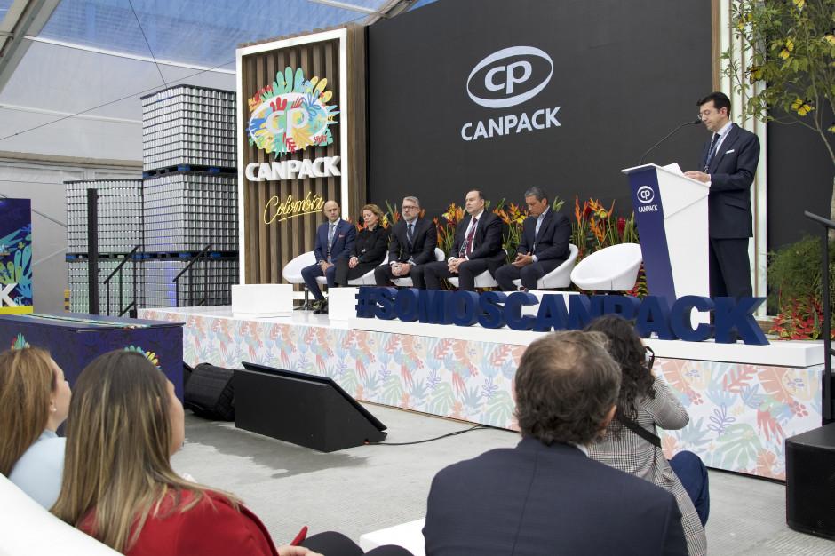 Canpack otworzył fabrykę w Kolumbii