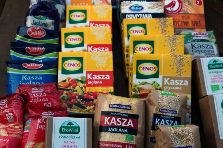 Food Rentgen odpowiada PSOR: Raport na temat kasz trafił w potrzeby konsumentów