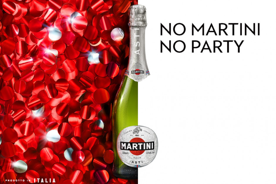 Kampania No Martini No Party! Celebracja we włoskim stylu z bąbelkami Martini Asti