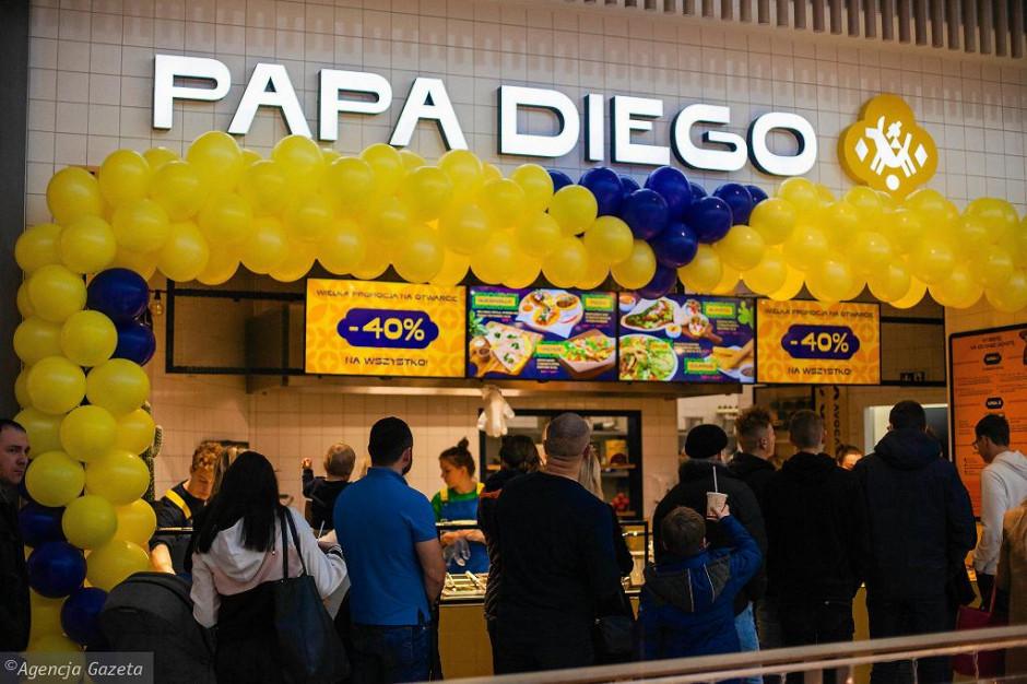 Sieć Papa Diego debiutuje w Gdyni