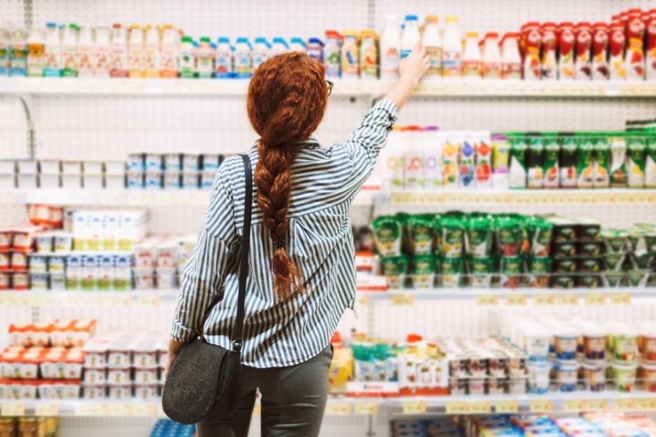 Różnice w wielkości spożycia produktów mleczarskich w zależności od dochodów