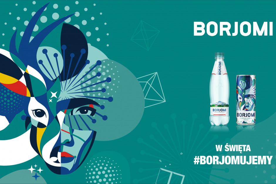 Świąteczna akcja marki Borjomi w Warszawie