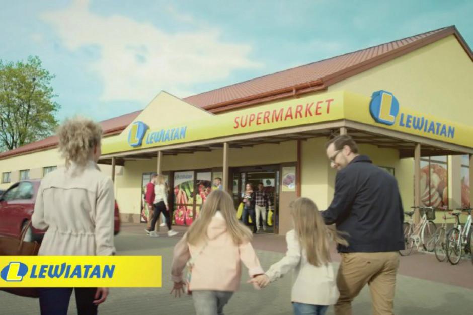 """Lewiatan z nową wersją reklamy """"Do Lewiatana jeden krok…"""""""