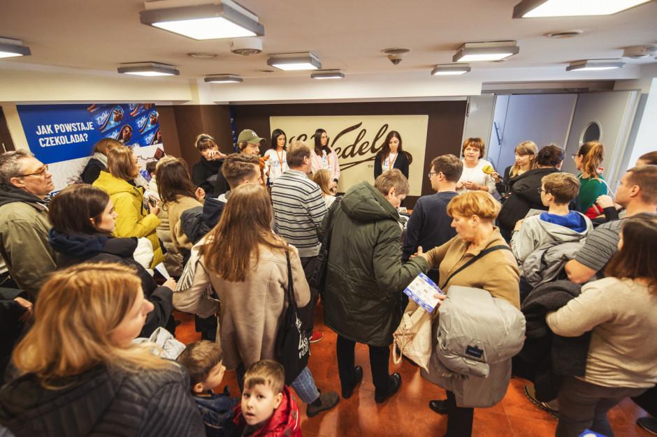 2 500 gości odwiedziło Fabrykę Czekolady E.Wedel w ramach czekoladowego weekendu