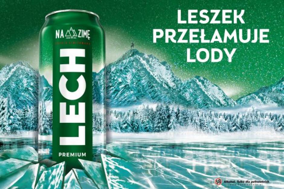 Leszek przełamuje lody - rusza zimowa kampania marki Lech Premium