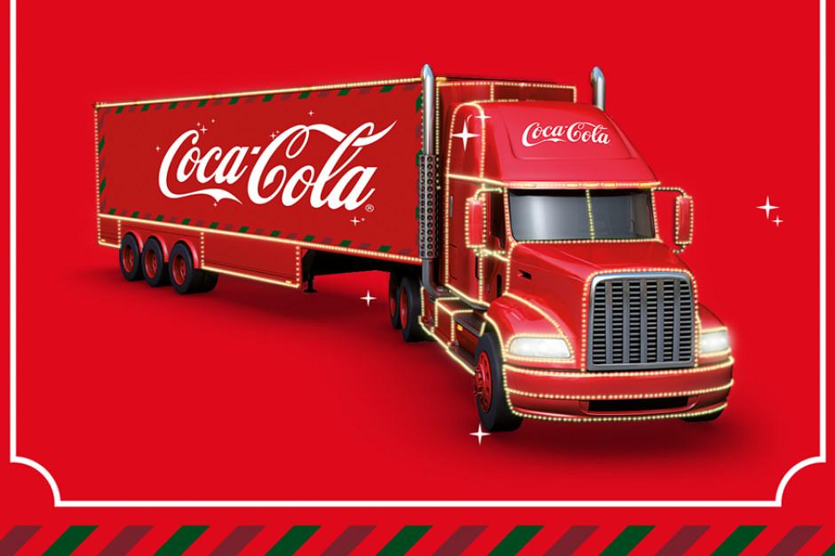 Świąteczne ciężarówki Coca-Cola odwiedzą Chorzele, Sandomierz i Iławę