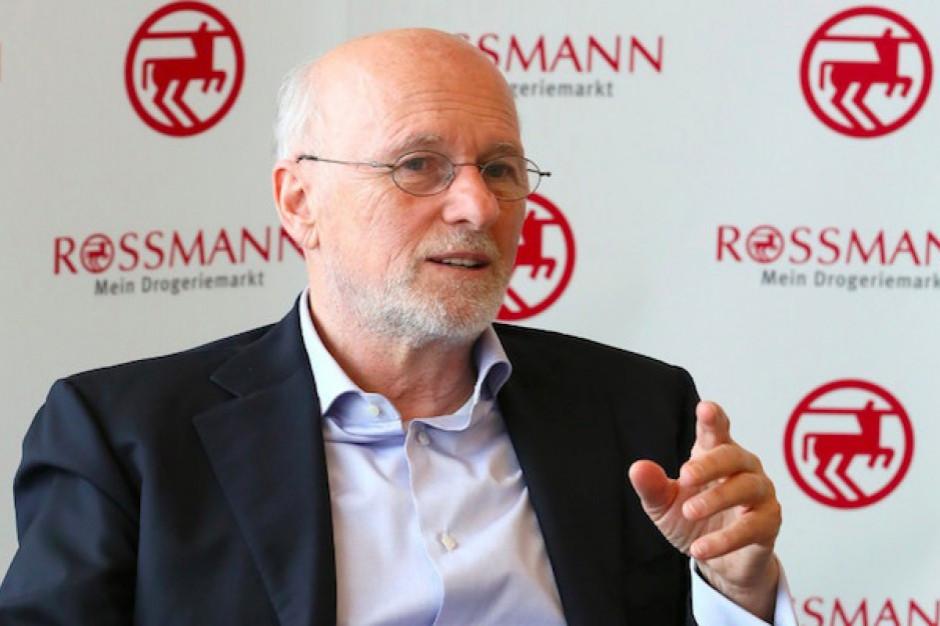 Założyciel Rossmanna: W 2018 zapłaciliśmy w Polsce 226 mln zł podatku CIT