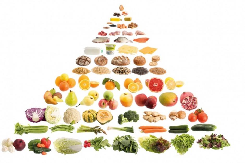 Piramidę żywieniową trzeba narysować na nowo