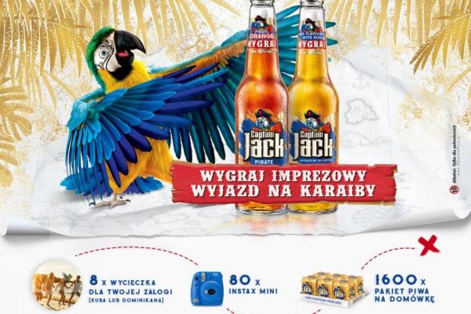Nowa promocja piw Captain Jack - kierunek Karaiby