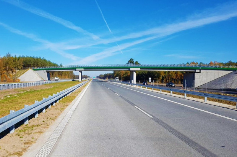 W ciągu 6 lat zbudowano ponad 1169 km dróg