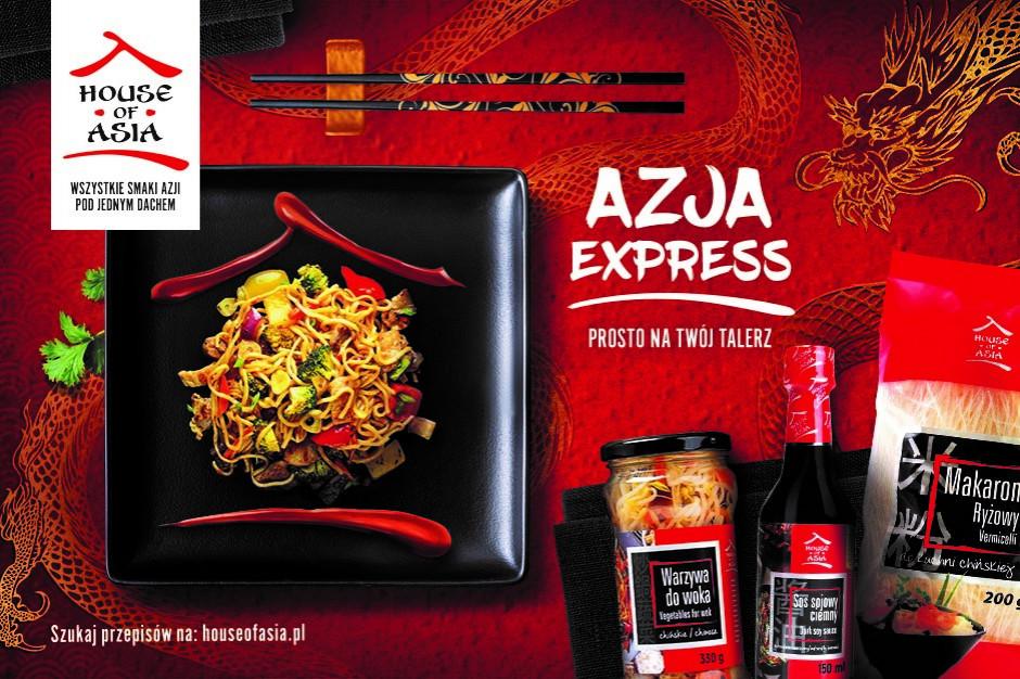 """House of Asia z kampanią """"Azja Express"""""""