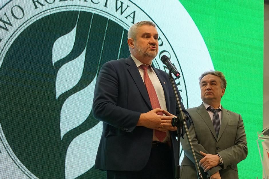 Minister rolnictwa o wyzwaniach branży sadowniczej i warzywniczej