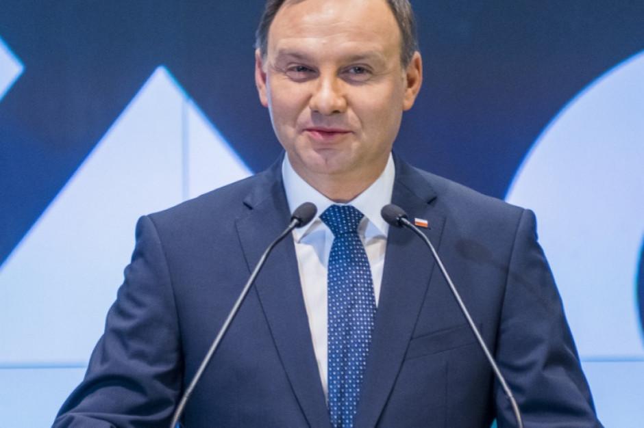 Prezydent: Gospodarka 4.0 to kolejny etap rozwoju świata, w którym chcemy brać udział