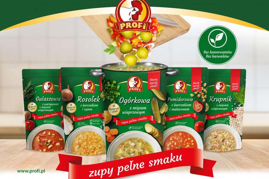 Profi startuje z nową kampanią telewizyjną dla zup