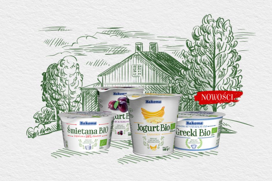 Bakoma inwestuje w poszerzenie marki jogurtów Bio