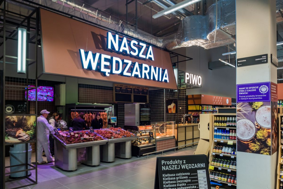 Carrefour Polska rozwija własne piekarnie oraz wędzarnie wędlin i ryb
