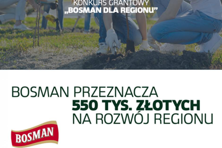 Rusza konkurs grantowy marki Bosman