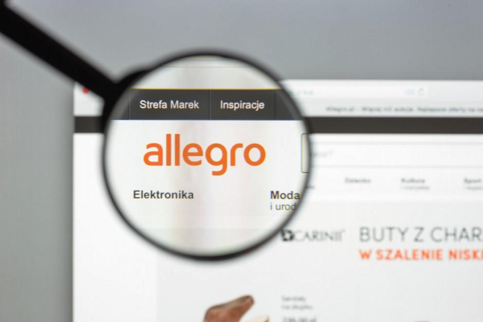 Allegro wśród gigantów e-handlu