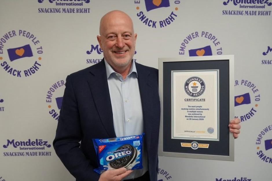 Mondelēz International z rekordową sprzedażą ciastek Oreo i rekordem Guinnessa