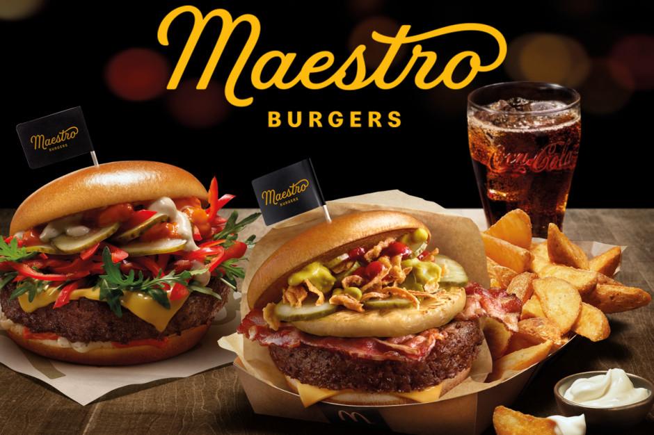Tomasz Karolak w niestandardowej kampanii burgerów Maestro