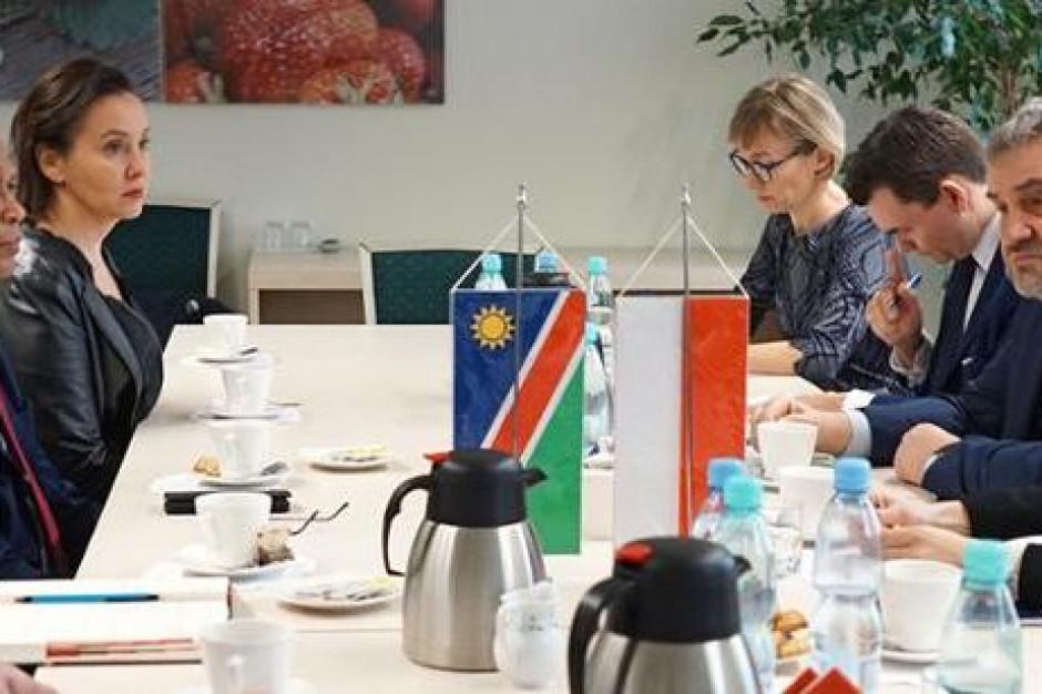 Polska i Namibia chcą zwiększyć wymianę handlową artykułami rolno-spożywczymi