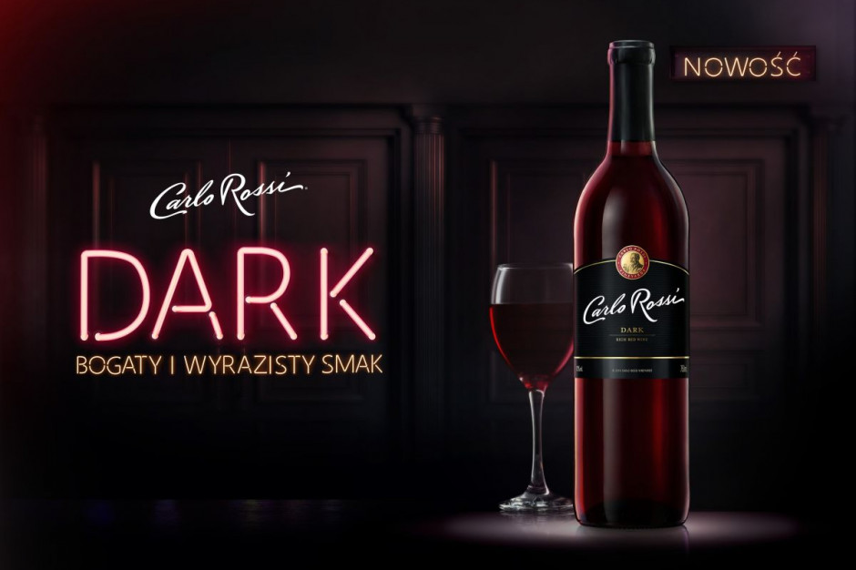 CEDC wprowadza na rynek nowe wino Carlo Rossi Dark
