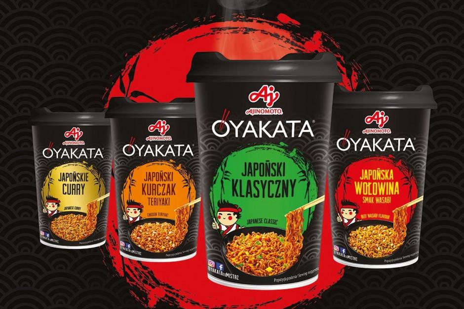 Smak Japonii. O YA! – nowa kampania zup i dań OYAKATA