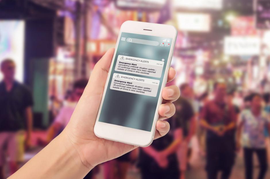 W Chinach aplikacja poinformuje użytkowników czy mieli kontakt z wirusem