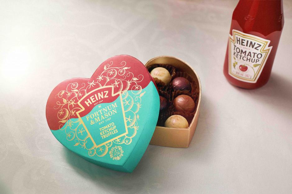 Praliny Heinz Tomato Ketchup Truffles - nowość na Walentynki