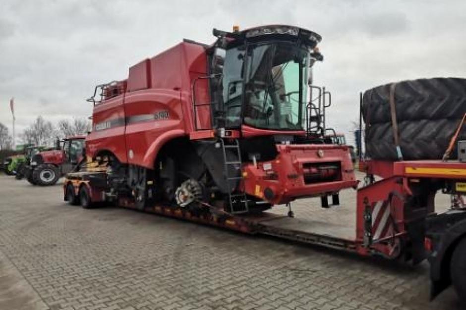 Fracht FWO Polska dostarcza największy kombajn zbożowy na świecie