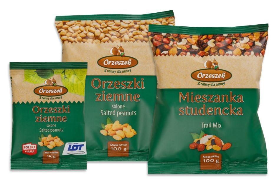 Firma Orzeszek wprowadza nowe opakowania bakalii
