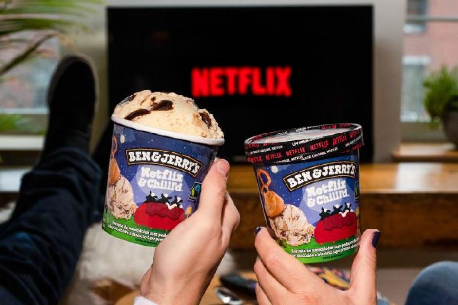 Marka Ben&Jerry's  wprowadza do Polski lody we współpracy z Netflixem