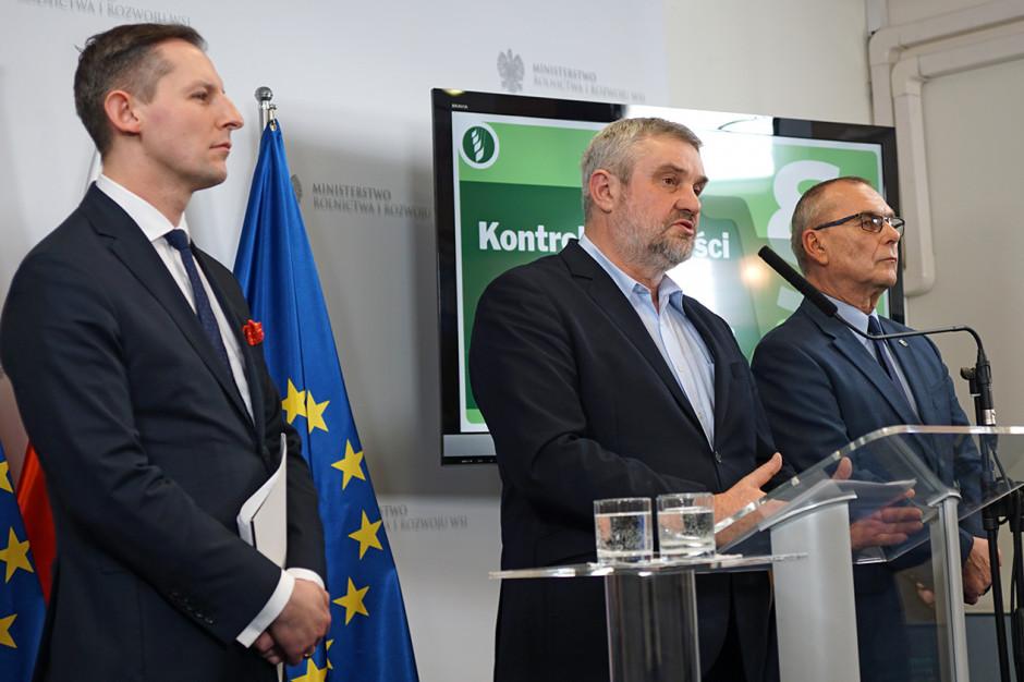 Ardanowski: Chcemy, aby polska żywność była bezpieczna i wysokiej jakości