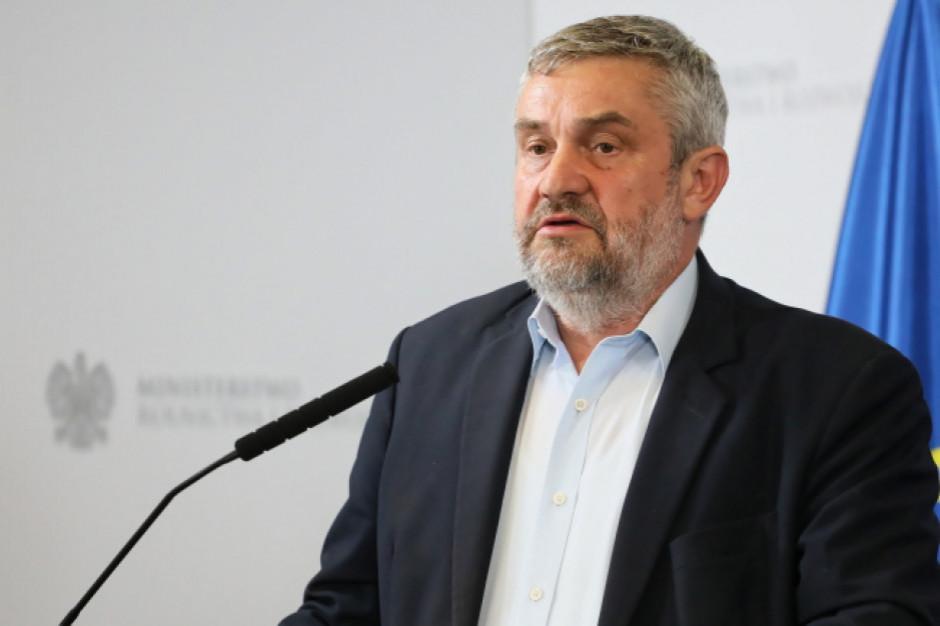 Ardanowski: Produkcja żywności zgodnie z wytycznymi Zielonego Ładu wymaga wsparcia finansowego