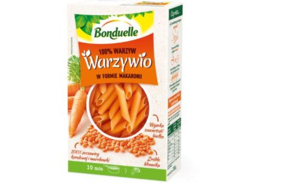 Bonduelle weszła w nową kategorię - warzywa w formie makaronu