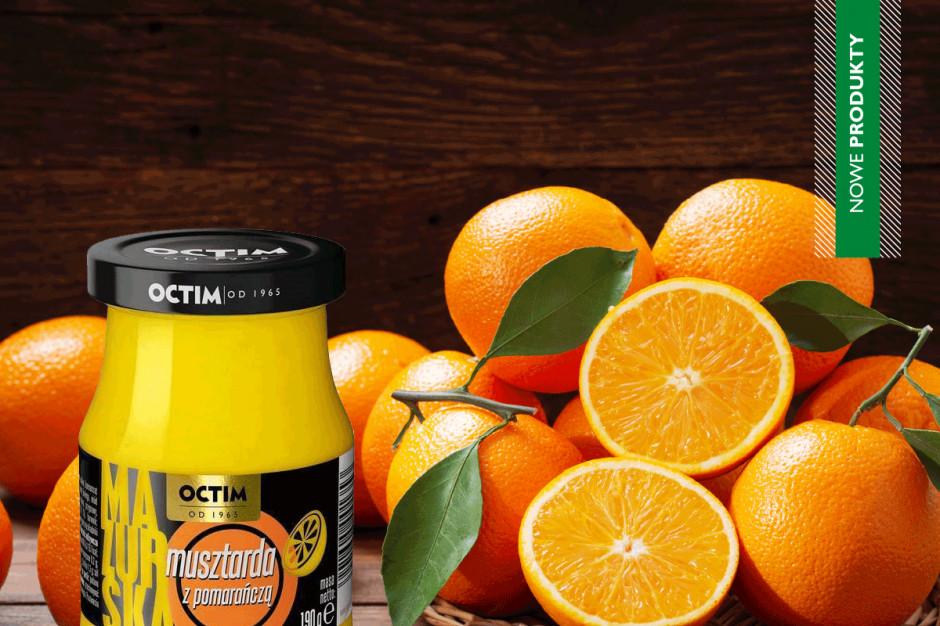 Firma OCTIM wprowadza nowość – musztardę z pomarańczą