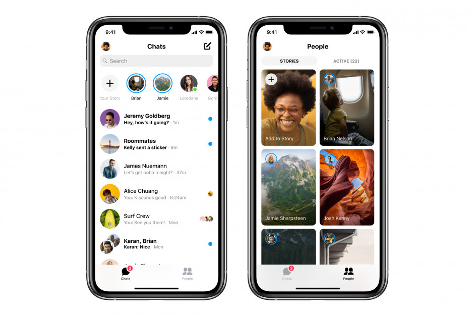 Facebook wprowadza nową wersję Messengera