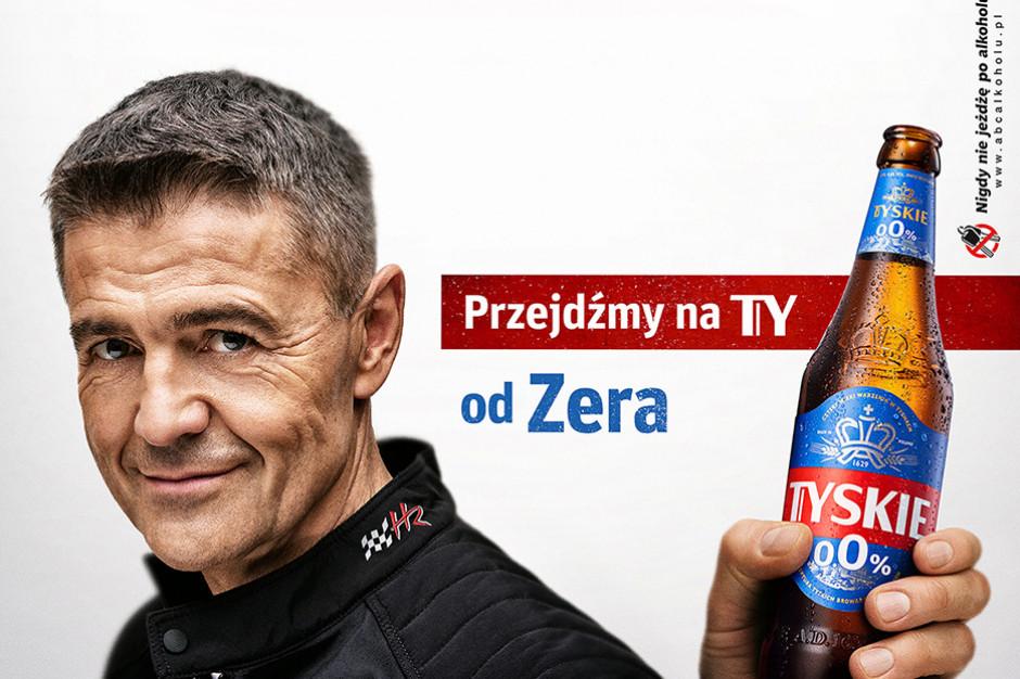 Nowe Tyskie 0,0 proc. już w sklepach. Krzysztof Hołowczyc ambasadorem marki