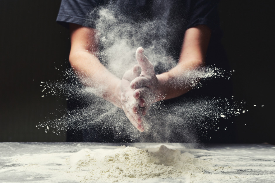 Przy młynach kolejki po mąkę