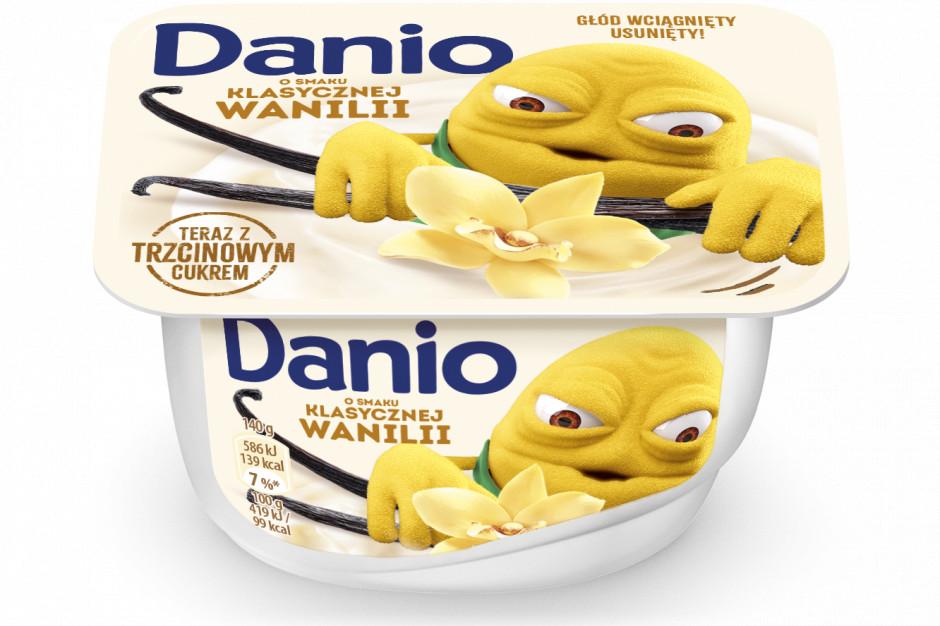 Danone usunął syrop glukozowo-fruktozowy z marki Danio