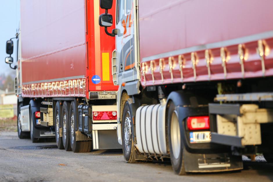Łańcuch dostaw: Kolejki tirów do granicy z Ukrainą i Białorusią