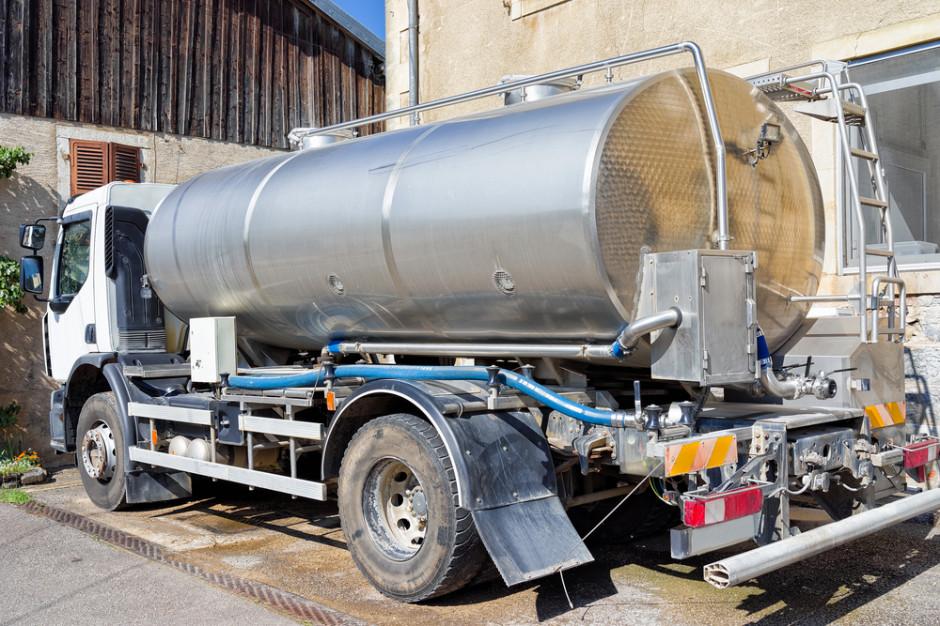 Mleczarnie wzywają do swobodnego przepływu pojazdów do odbioru mleka