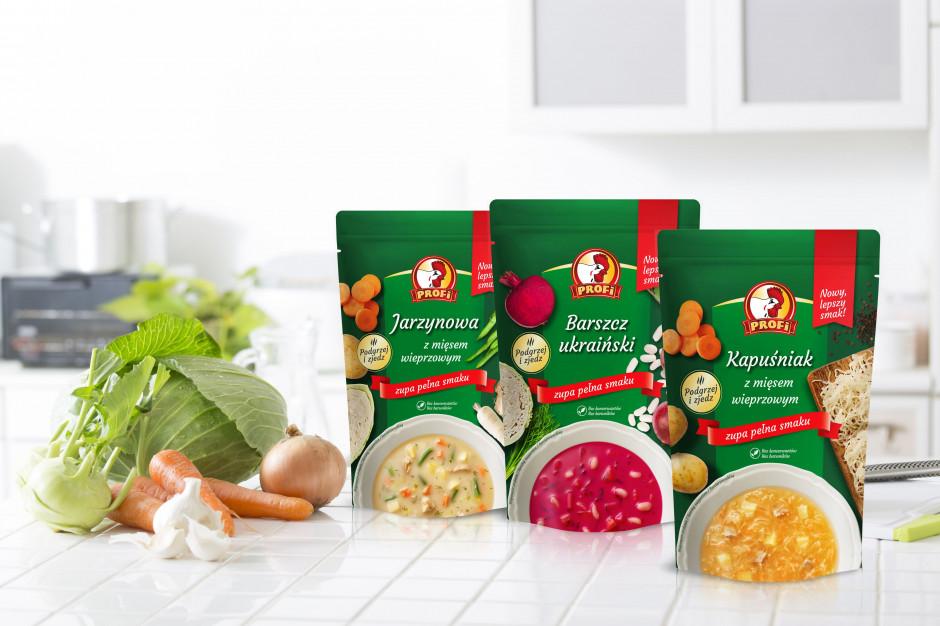 Profi zbliża się do 50 proc. udziału w rynku zup gotowych